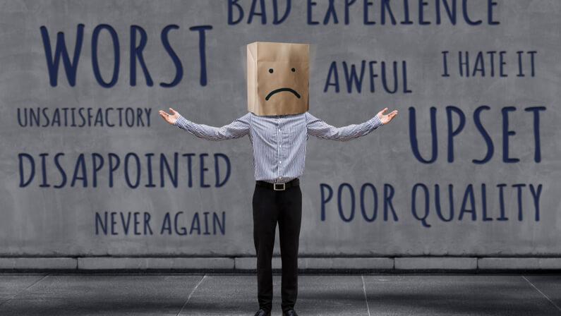 address negative feedback